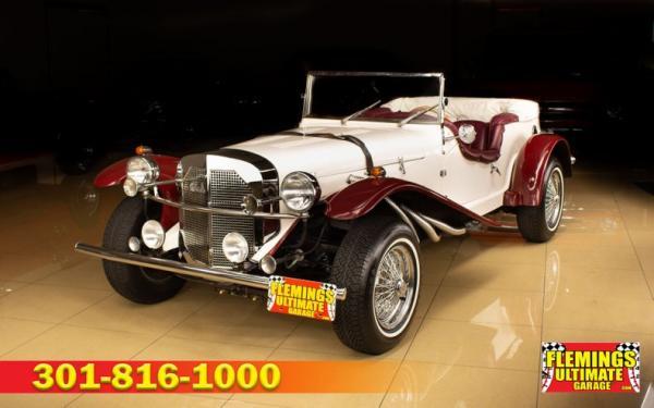 1929 Mercedes-Benz SSK replica