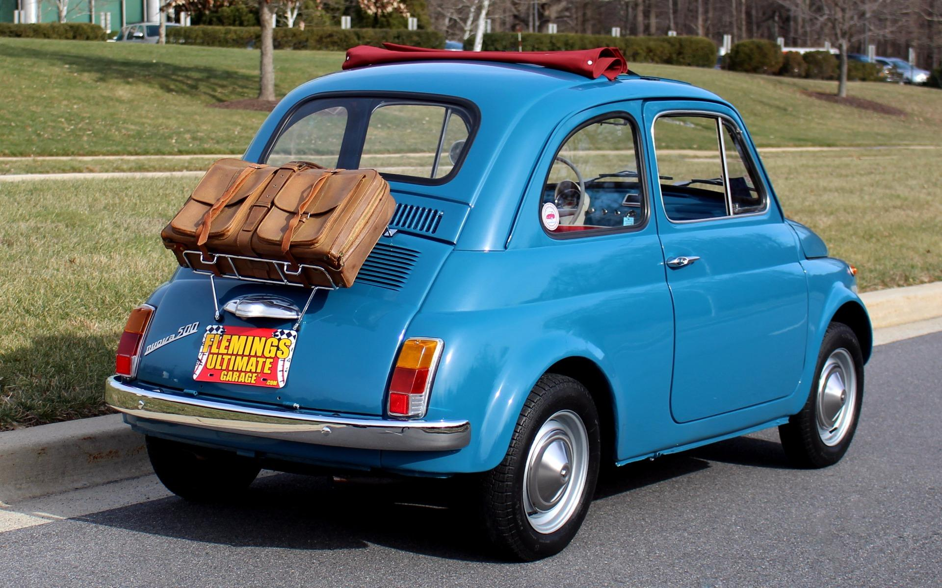 1968 Fiat 500 Cabrio Roof 1970 For Sale