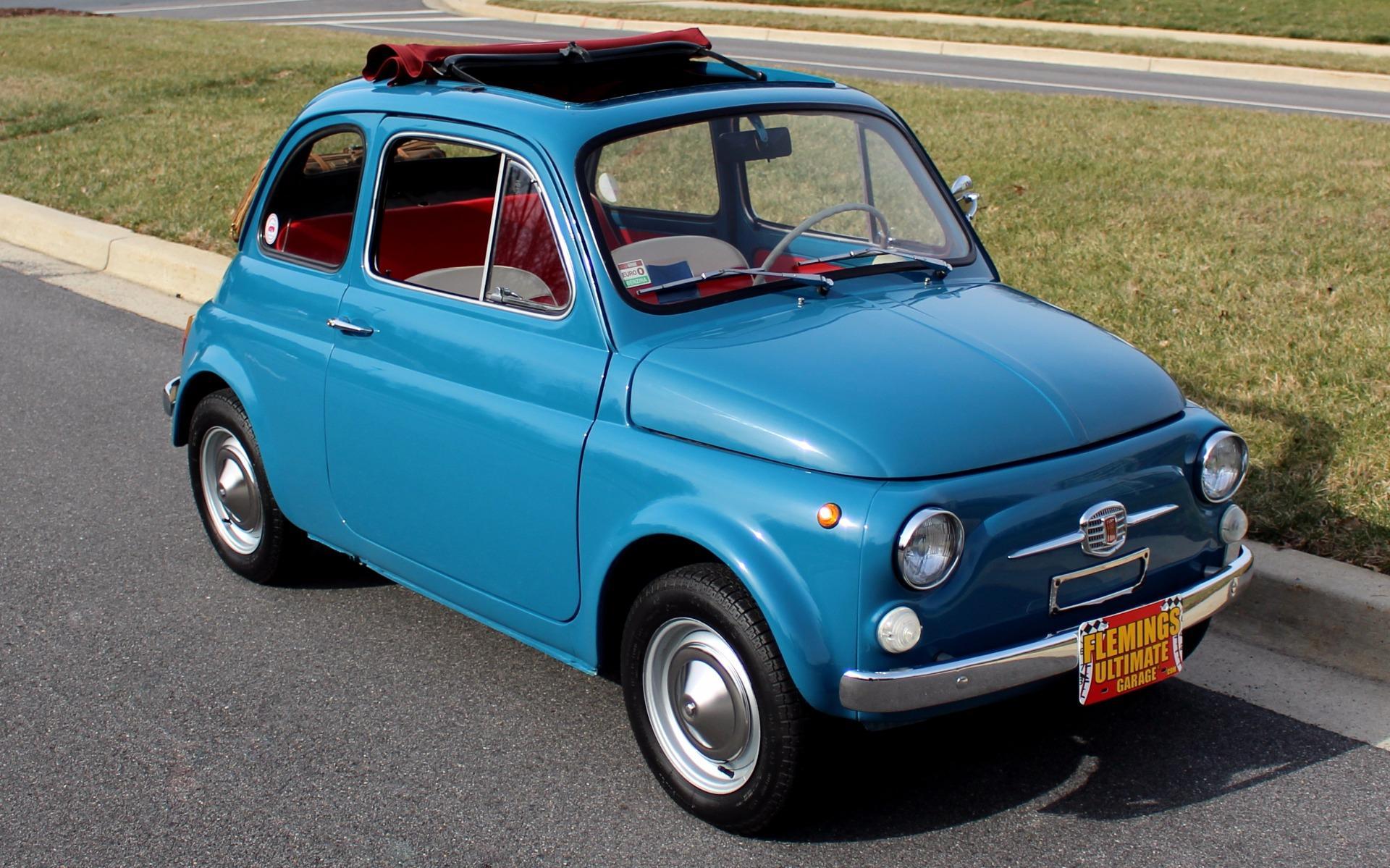 1968 Fiat 500 Cabrio Roof