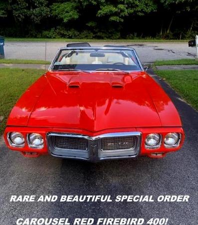 1969 Pontiac Firebird 400 Convertible   SOLD!!