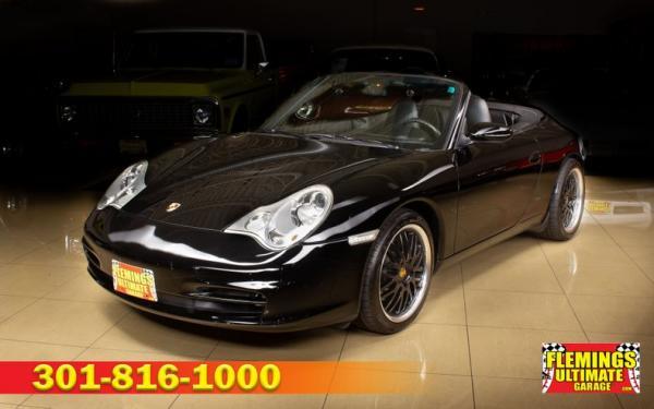 2004 Porsche 911 Carerra cabriolet