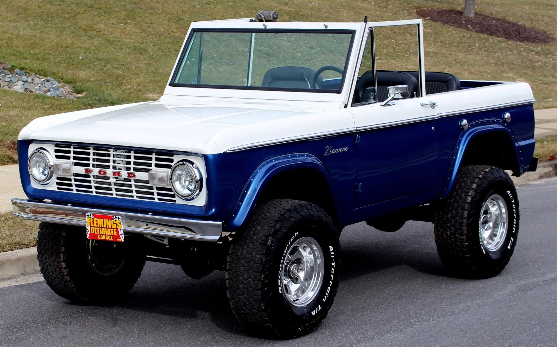 1975 Ford Bronco Pro Touring 4x4 With Less Than 100 Test Miles