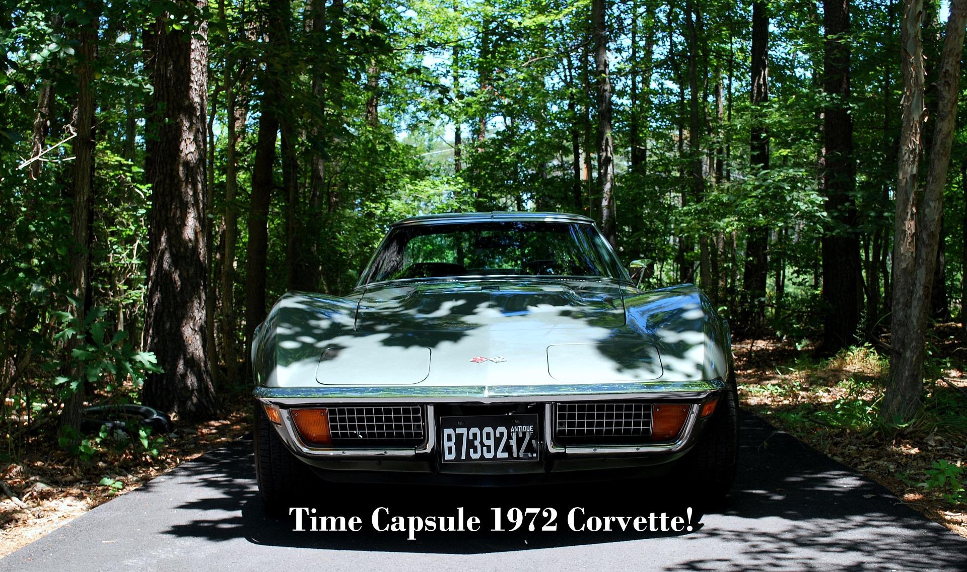1972 Chevrolet Corvette Survivor Stingray!