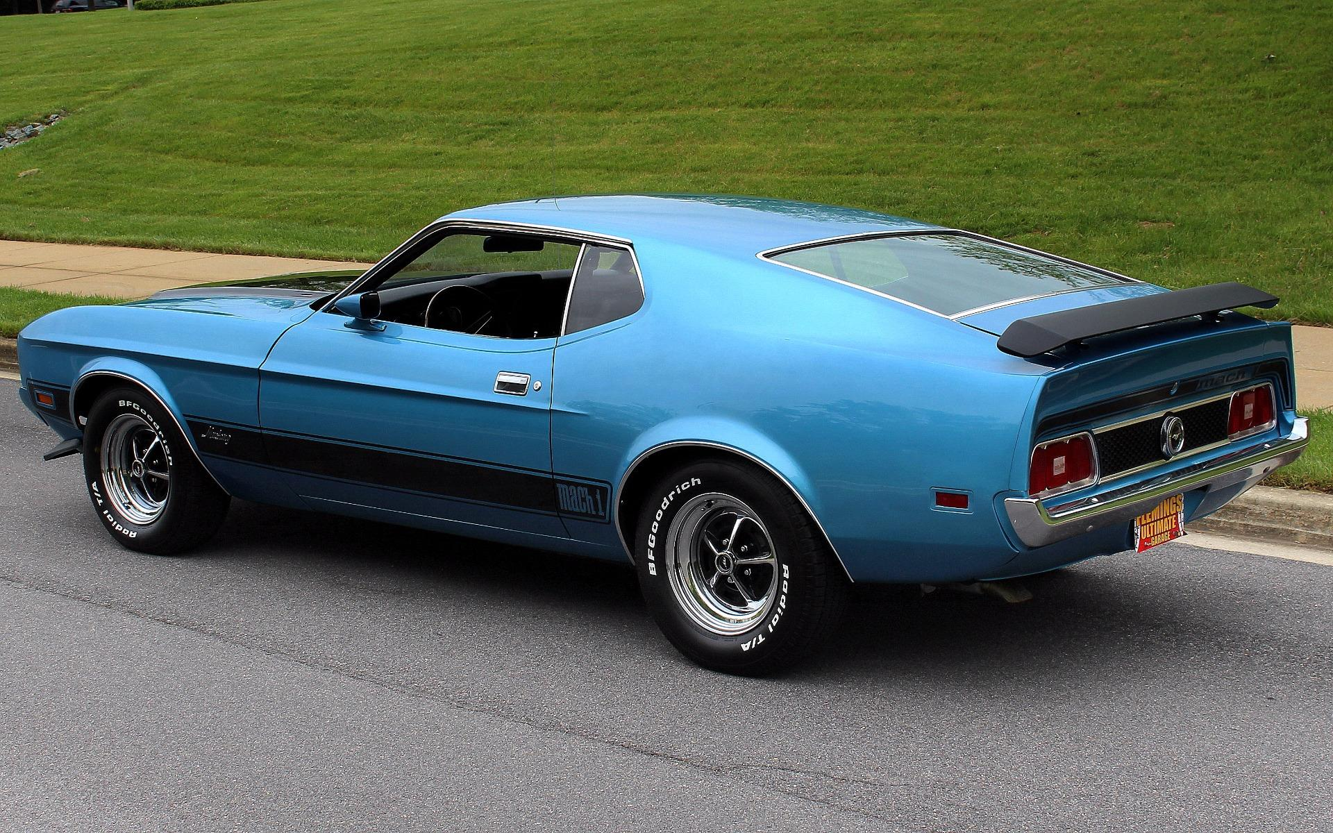1973 ford mustang mach 1 q code