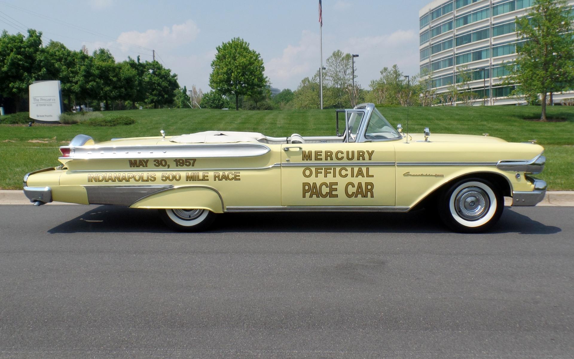 1957 mercury turnpike cruiser pace car convertible - 1957 Mercury Pace Car Convertible