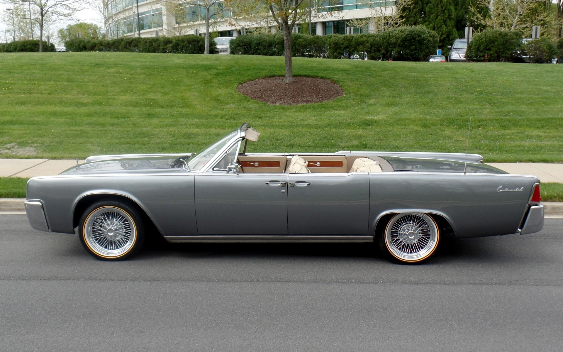 1962 Lincoln Continental Suicide Door