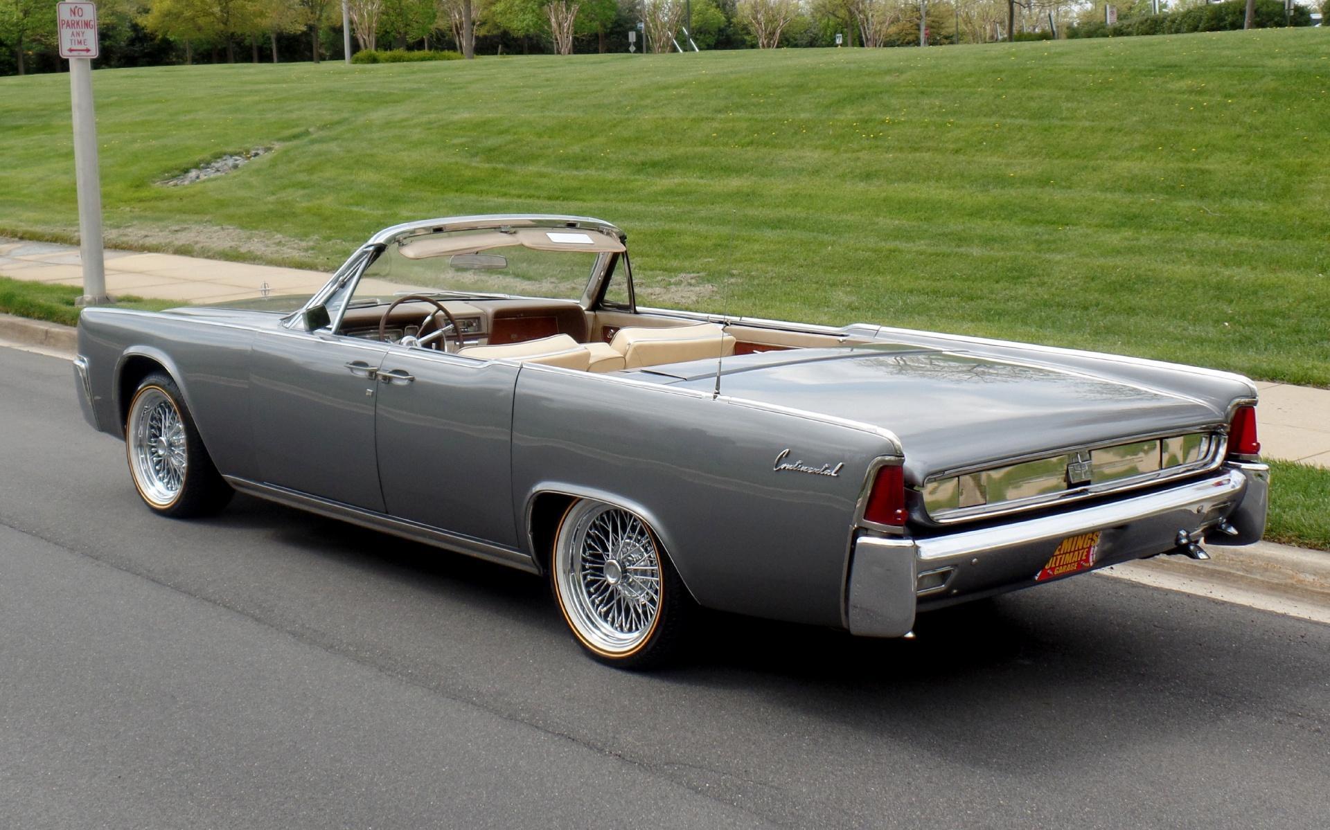 1962 Lincoln Continental Suicide Door