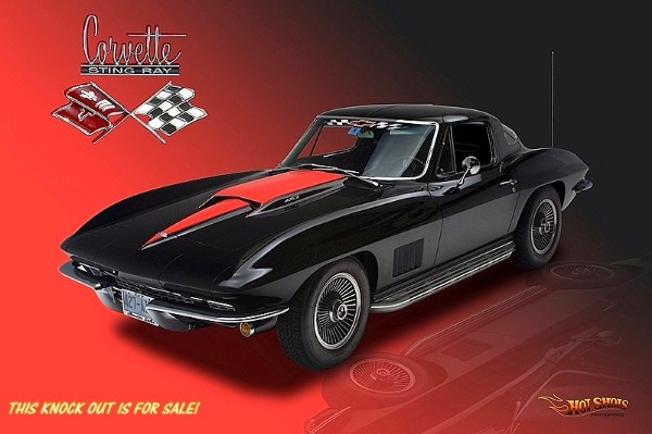 1967 Chevrolet Corvette RARE COUPE 427 / 400 hp. A/C
