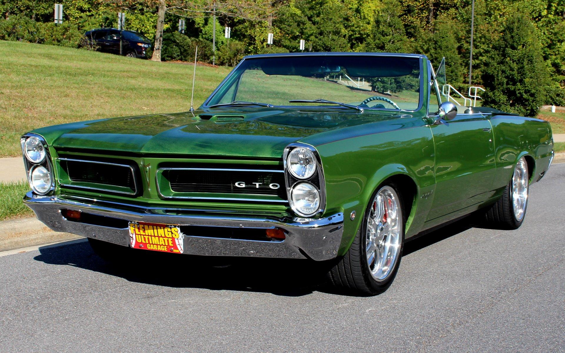 1965 Pontiac Gto Pro Touring March Serpentine