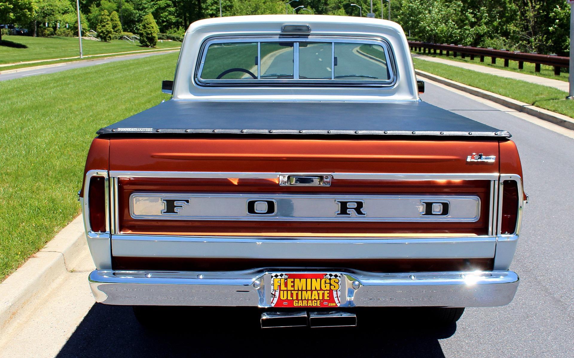 1967 Ford F100 Pickup Radio Trim