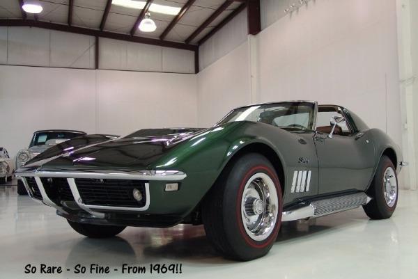 1969 Chevrolet Corvette Tri Power