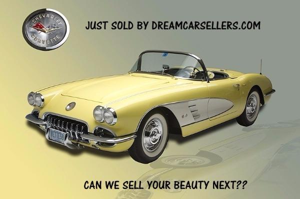 1958 Chevrolet Corvette  SOLD!!!