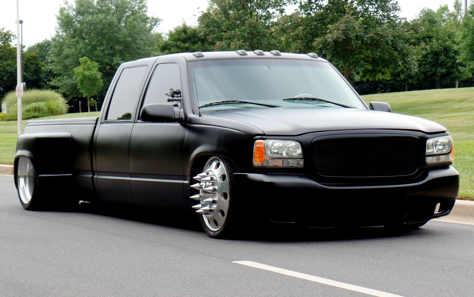 1998 gmc sierra 3500 protouring custom dually. Black Bedroom Furniture Sets. Home Design Ideas