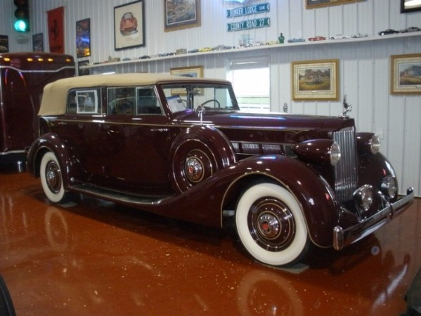 1935 Packard - SOLD! 1202 Convertible - SOLD!! Concourse Collector