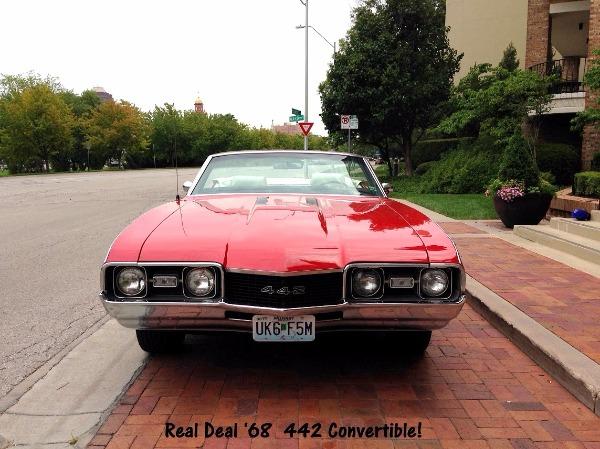 1968 Olsmobile 442 - SOLD!!
