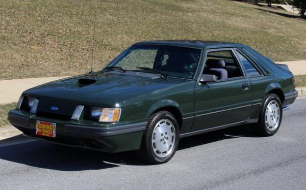1985 Ford Mustang SVO Hertz Rent-A-Racer