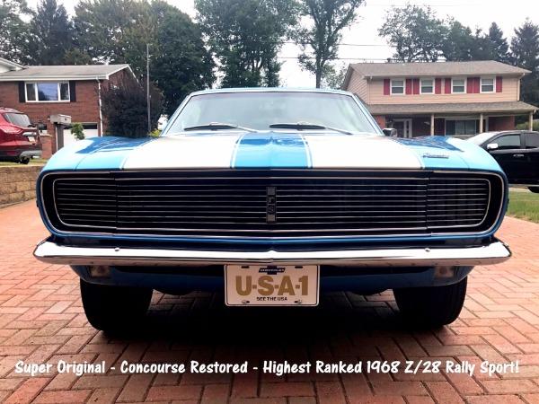 1968 Chevrolet - SOLD!! Camaro Z/28 - SOLD!!