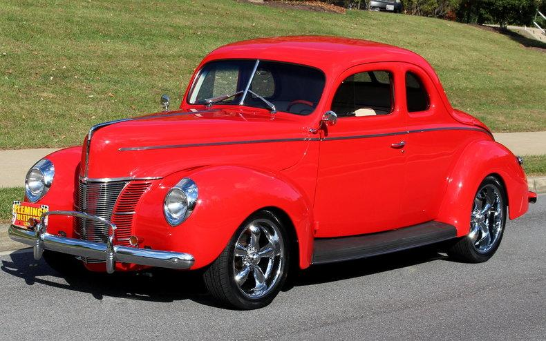 1940 ford all steel street rod for Garage ford vernon