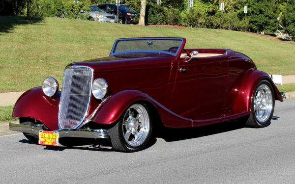 1933 Ford STREET ROD $100k BUILD !