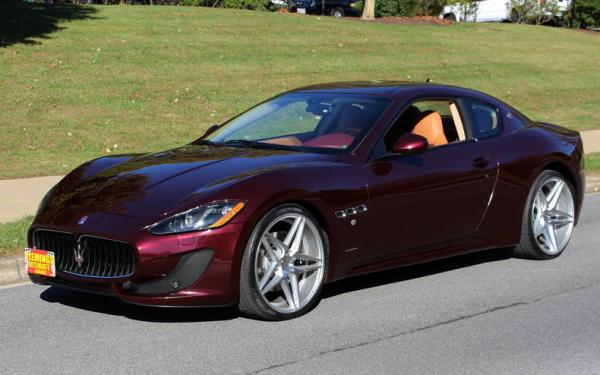 2014 Maserati GRANtURISMO S