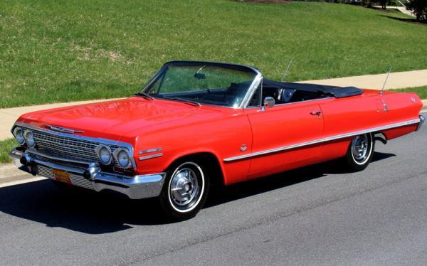 1963 Chevrolet IMPALA SS409 425HP SS409