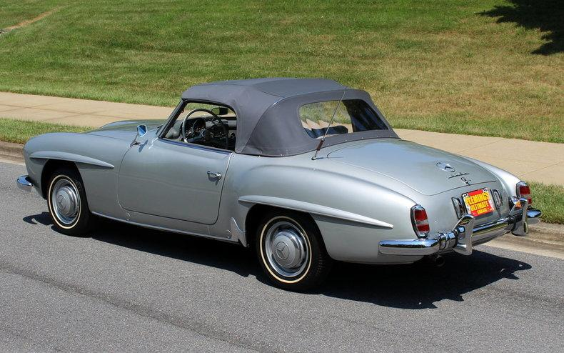 1956 mercedes benz 190sl roadster for 1956 mercedes benz 190sl