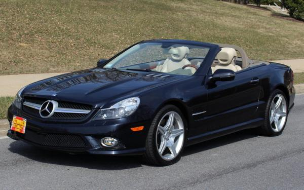 2009 Mercedes-Benz SL 550 Roadster