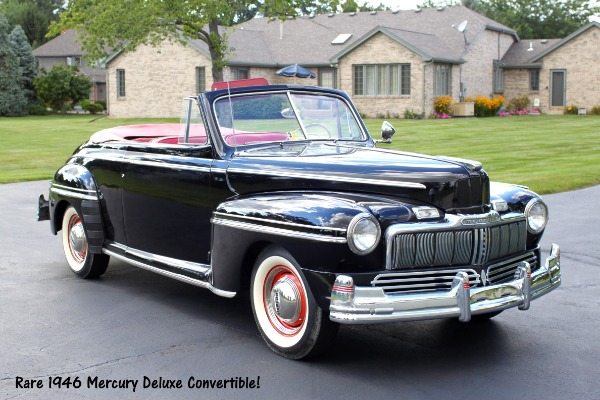 1946 Mercury Convertible -  Huge Price Cut Now!