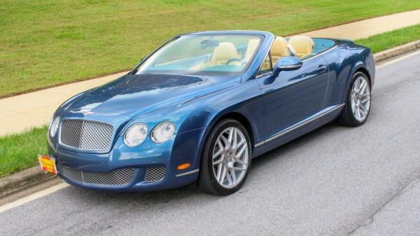 2010 Bentley Continental GTC Speed Convertible