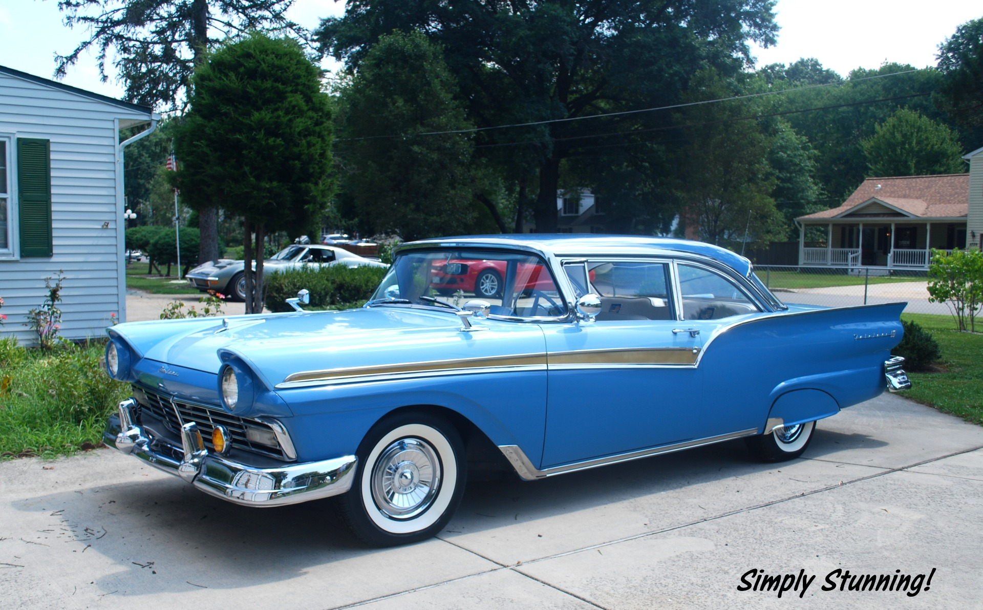 1957 Ford Fairlane 500 - SOLD!! Club Coupe