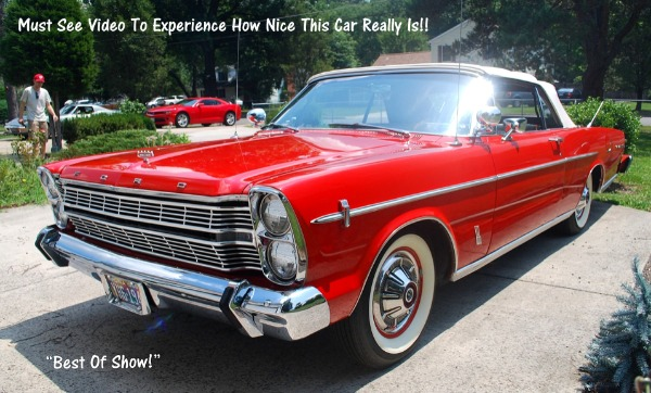 1966 Ford - New Lower Price! Galaxie 500 Convertible - SOLD!!