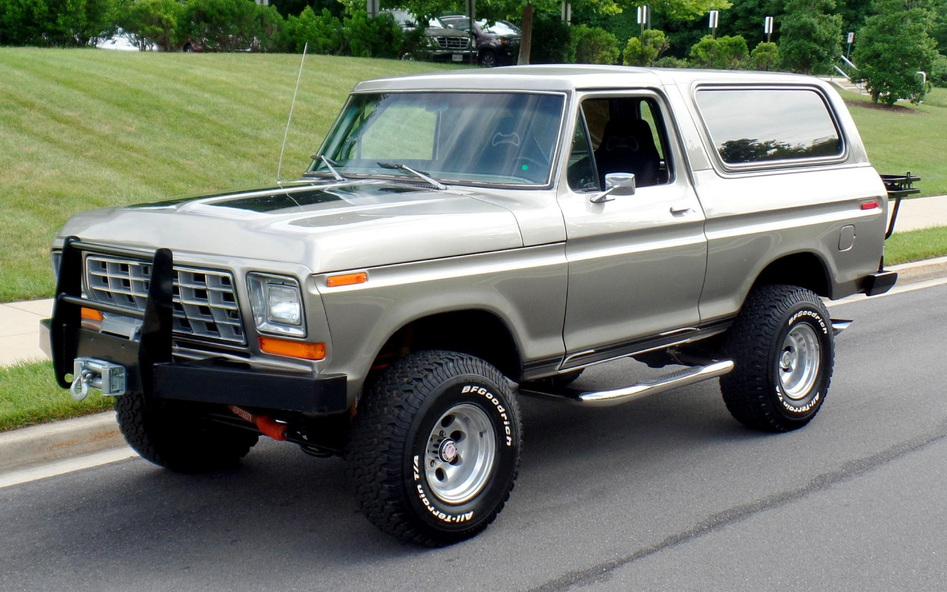 1978 Ford Bronco Xlt 4x4 1970 Lifted
